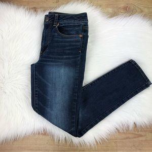 AEO | Medium Wash Hi-Rise Skinny Stretch Jeans